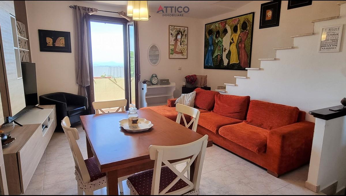 Attico su due livelli recente, panoramico e con terrazzo, Via Caduti di Superga, 1E Tissi, Sardegna.