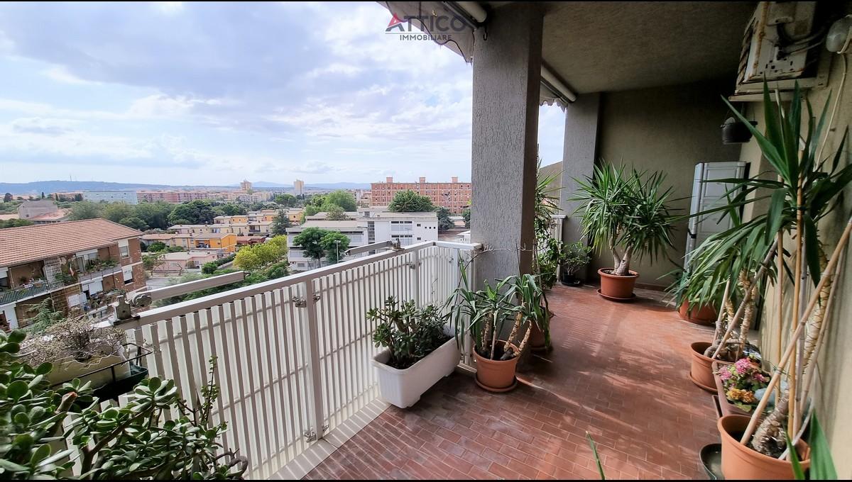 Attico con tre letto, due bagni e garage in zona Latte Dolce, Via Bellini 60, Sassari, Sardegna.